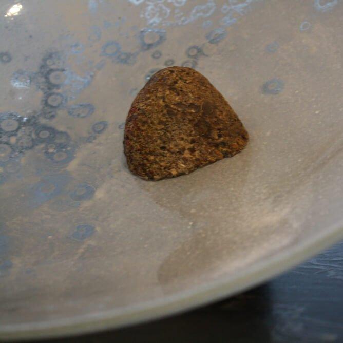 Large Stone Pearl Dish David Mola